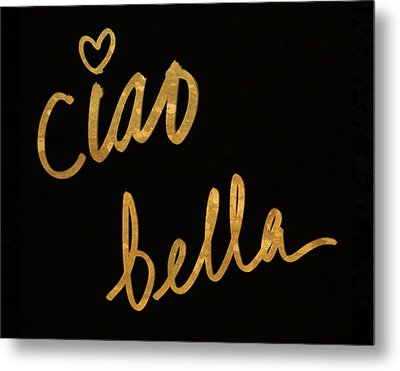 Darling Bella II Metal Print by South Social Studio