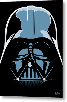 Darth Vader Metal Print by IKONOGRAPHI Art and Design