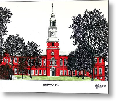 Dartmouth Metal Print by Frederic Kohli