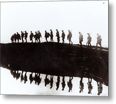 Dawn March Metal Print by Private Collection