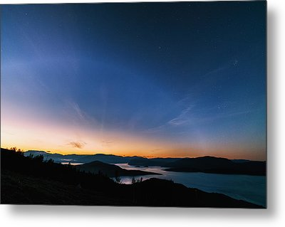 Day Becomes Night Metal Print by Tor-Ivar Naess