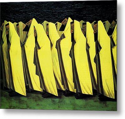 Day Of Atonement Metal Print by Jacob Kramer