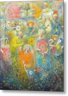 Daydream After The Music Of Max Reger Metal Print by Annael Anelia Pavlova
