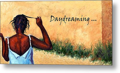 Daydreaming In Haiti Metal Print by Janet King