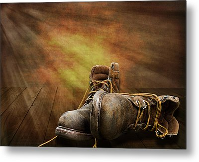 Day's End Metal Print by Trudy Wilkerson