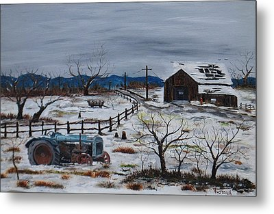 Days Gone By Metal Print by Brian Hustead