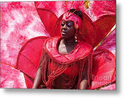 Dc Caribbean Carnival No 18 Metal Print by Irene Abdou