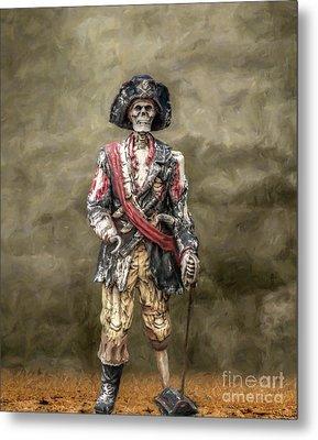 Dead Men Tell No Tales Metal Print by Randy Steele