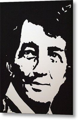 Dean Martin Loving Life Metal Print by Robert Margetts