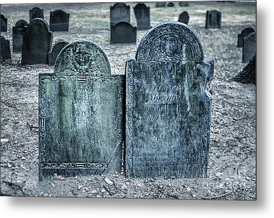Death By Smallpox Metal Print by Tamyra Ayles