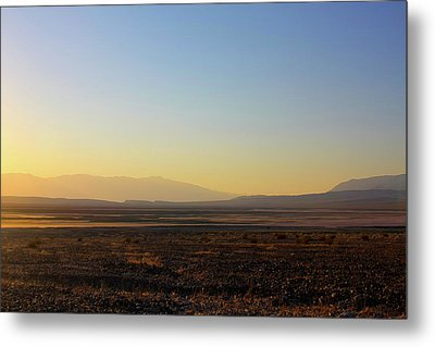 Death Valley -  A Beautiful But Dangerous Place Metal Print by Christine Till