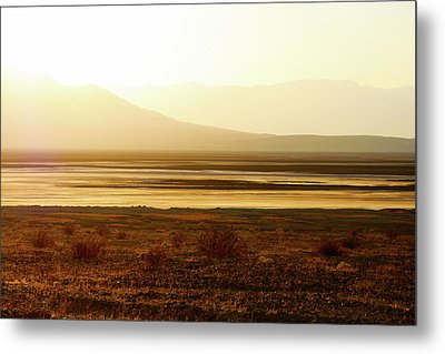 Death Valley - A Natural Geologic Museum Metal Print by Christine Till
