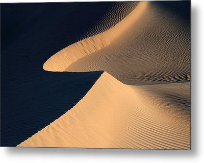 Death Valley Sand Design Metal Print by Pierre Leclerc Photography