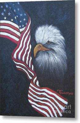 Dedicted To Those Who Serve Metal Print by Rhonda Myers