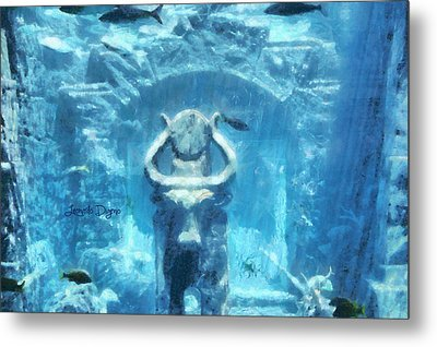 Deep Atlantis Metal Print by Leonardo Digenio