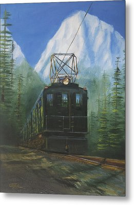 Deep In The Cascades Metal Print by Christopher Jenkins