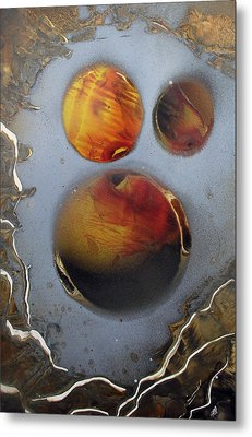 Deep Space Metal Print by Arlene  Wright-Correll