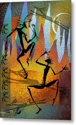 Deer Blessing Metal Print by Angela Treat Lyon