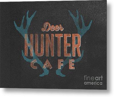 Deer Hunter Cafe Metal Print by Edward Fielding