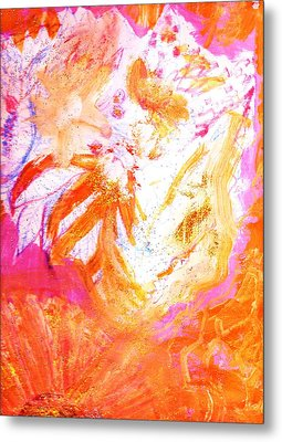 Deliciously Orange Metal Print by Anne-elizabeth Whiteway