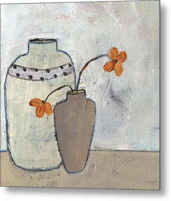 Delightful Metal Print by Judy Jacobs