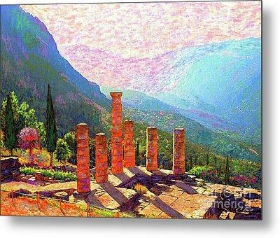 Delphi Magic Metal Print by Jane Small