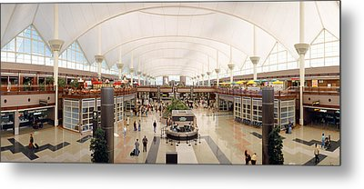Denver Airport, Colorado Metal Print by Panoramic Images