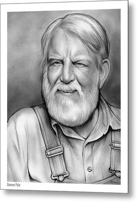 Denver Pyle Metal Print by Greg Joens
