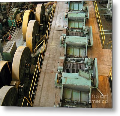 Deserted Factory Metal Print by Yali Shi