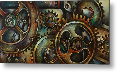 Design 2 Metal Print by Michael Lang