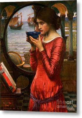 Destiny Metal Print by John William Waterhouse