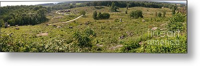 Devils Den From Little Round Top Metal Print by David Bearden