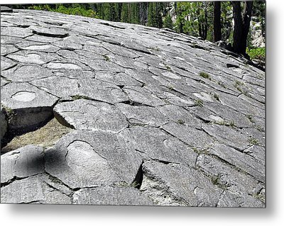 Devils Postpile - Nature And Science Metal Print by Christine Till