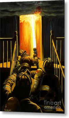 Devil's Stairway Metal Print by Paul Walsh