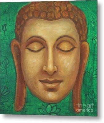 Dhyana Buddha Metal Print by Nayna Tuli Fineart