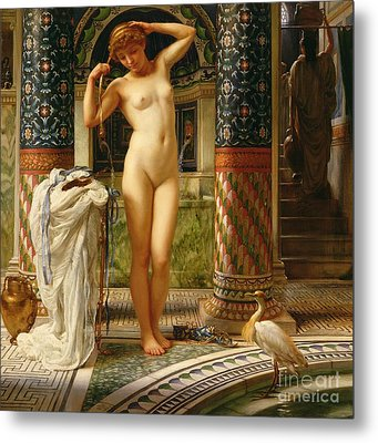 Diadumene Metal Print by Sir Edward John Poynter