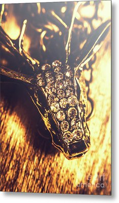 Diamond Encrusted Wildlife Bracelet Metal Print by Jorgo Photography - Wall Art Gallery