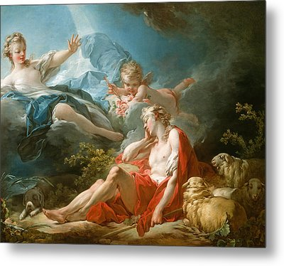 Diana And Endymion Metal Print by Jean-Honore Fragonard