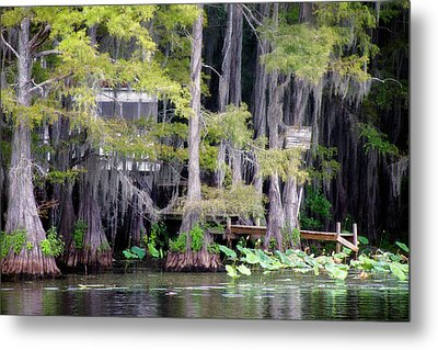 Dick And Charlies Tea Room Metal Print by Lana Trussell