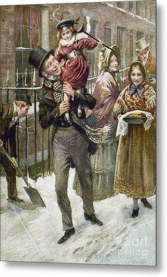 Dickens: A Christmas Carol Metal Print by Granger