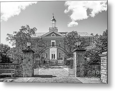 Dickinson College Weiss Center For The Arts Metal Print by University Icons