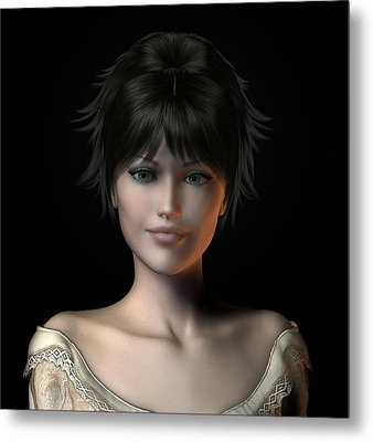 Deirdra Metal Print by David Griffith