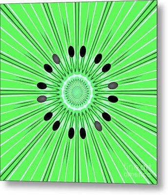 Digital Art Kiwi Metal Print by Gaspar Avila