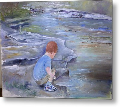 Discovery Metal Print by Vickie Shelton