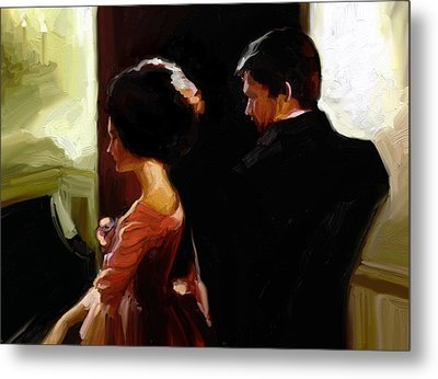 Discreet Whisper Metal Print by Stuart Gilbert