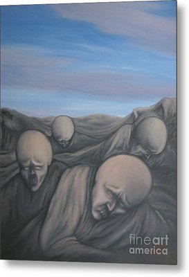 Dismay Metal Print by Michael  TMAD Finney