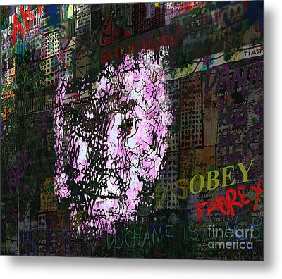 Disobey  Metal Print by Andy  Mercer