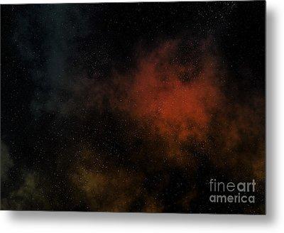 Distant Nebula Metal Print by Michal Boubin