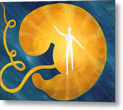 Incarnation - Illustration #12 In The Infinite Song Metal Print by Andrea Freeman