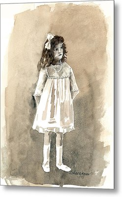 Do I Have To Wear A Dress Metal Print by Arline Wagner